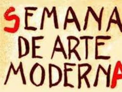 Semana de arte moderna em 1922