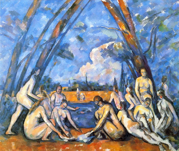 cezanne as grandes banhistas resize f5031